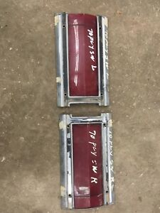 1970 Plymouth Station Wagon  Rear Taillights