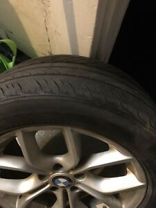 Bmw x3 oem rims and tires