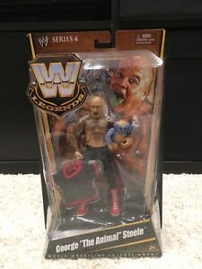 WWE WWF MATTEL LEGENDS GEORGE THE ANIMAL STEELE FIGURE