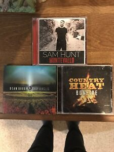 Country music CD albums