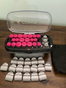 Plug in hair curler set