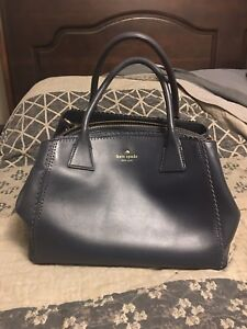 Navy blue Kate Spade leather purse
