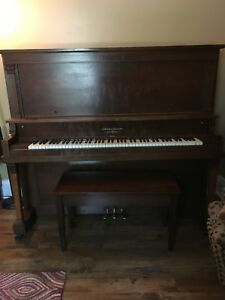 Free Piano with Bench