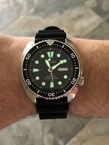 LIKE NEW Seiko SRP777 Turtle dive watch
