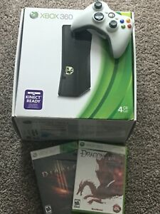 250GB Xbox with 2 controllers and 2 games