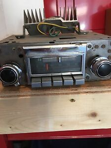 Corvette am/fm radio with amps works good