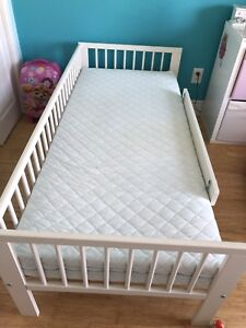 IKEA kids bed with mattress