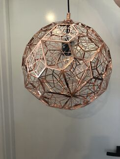 Tom Dixon replica Copper pendant light 37cm never used, as new