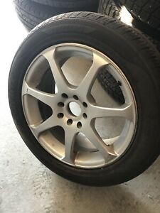 """16"""" rims with 205/55/16 tires"""