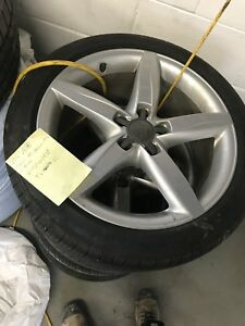 A4 Audi rims + all season tires (Pirelli)