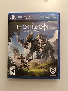 Horizon PS4 Mint Condition