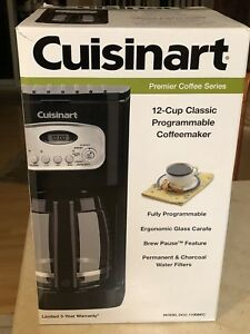 Brand New** Cuisinart 12 Cup Coffee Maker