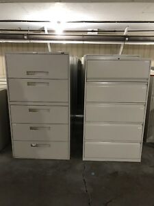 Filing cabinets!