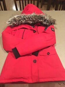Women's Ecko Red Parka Size Small