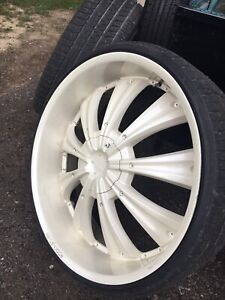 "28"" rims gmc and ford bolt patter"