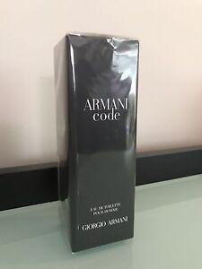 Armani Code Men's 75ml brand new fragrance perfume Glendenning Blacktown Area Preview