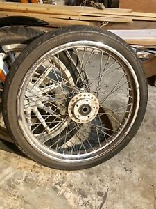 "21"" and 16"" wheels off 2004 Harley Sportster"