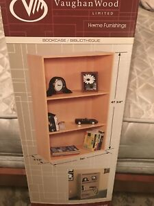 Bookcase and Bedside table