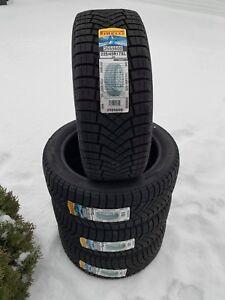 4 pneus hiver 225 45 r 17 neuf pirelli ice zero fr