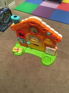 Toddler activity house/ wall