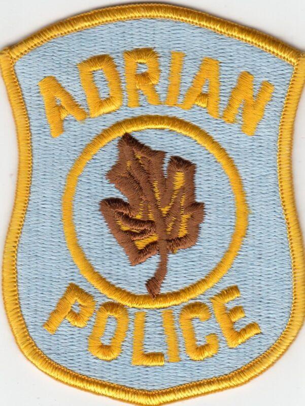 ADRIAN MICHIGAN MI POLICE SHOULDER PATCH