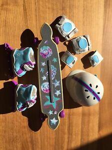 American Girl skateboard set