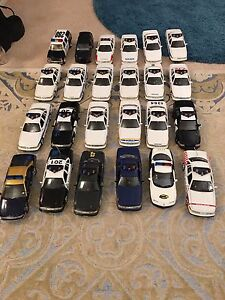 Police car collection