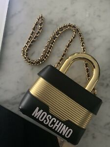 Sold Out Exclusive MOSCHINO x HM Gold Lock Bag
