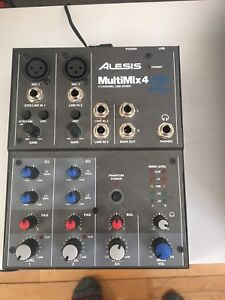 Alesis multimix 4 with USB