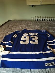 Gilmour Leafs jersey