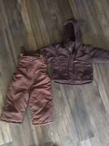 2T London fog snowsuit