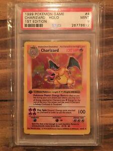 Pokemon cards shadowless 1st edition psa 10