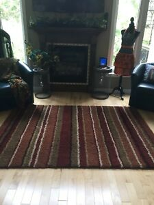 Neutral tone area rug 5X7.5 ft. In St Thomas