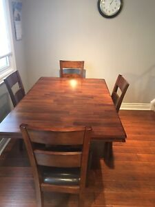 Dining Room or Kitchen Table with Chairs