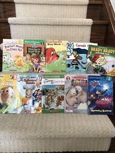 Lot of 10 children's books for beginners to early reading