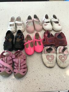 Girls shoe lot- size 5,6,7