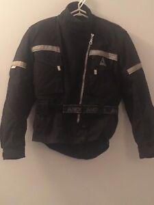 Manteau de moto pour femme Angora x-small