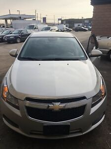 2014 CHEVROLET CRUZ LT..No accident