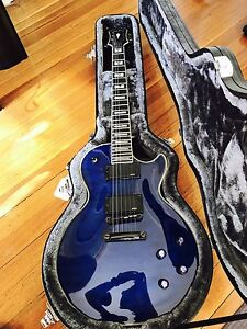 Epiphone Les Paul Custom Prophecy (Midnight Sapphire) Blacktown Blacktown Area Preview
