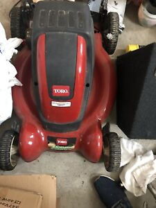Toro E-Cycler Lawn Mower