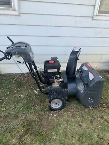 2 years old snow blower