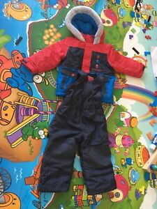 Boy's winter jacket and pants