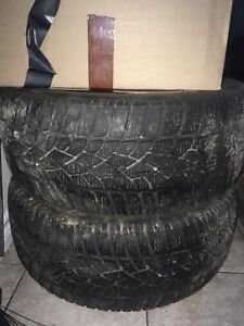 """Two 17"""" winter tires 225/45/r17"""