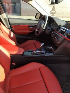 2015 BMW 320i xDrive Sport Package AWD Red Leather Interior