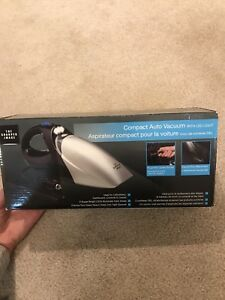 Compact Auto Vacuum with LED light - Brand new in box