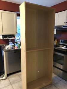 Curb alert!  IKEA billy bookcases