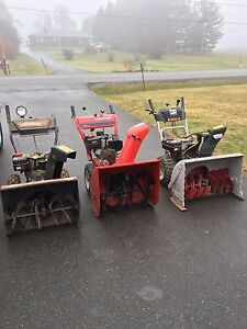 3 Snow Blowers For Sale $250 *Mechanics Special*