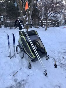 Chariot Cougar 2 with Ski kit!