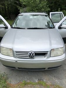 2004 Diesel Volkswagen Jetta Wagon Full Part Out