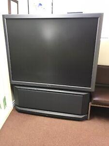 "FREE 50"" Sony Rear Projection TV"